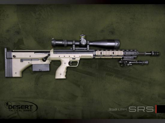 Desert Tactical SRS 338 LPM