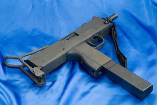 SWD M11 9 mm submachine gun