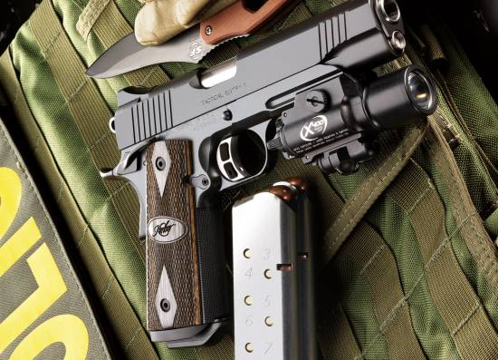 Kimber tactical entry