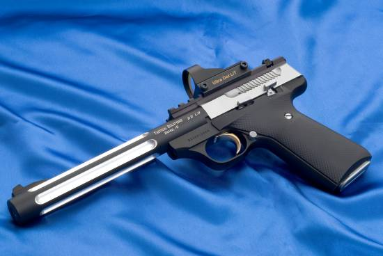 Browning Buck Mark, chambered in .22LR