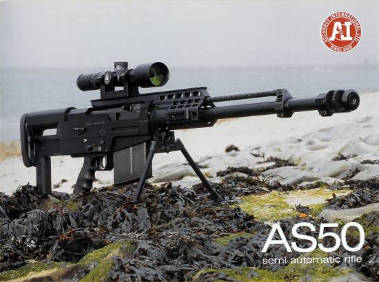 Accuracy International AS50 BMG Semi-Auto Rifle