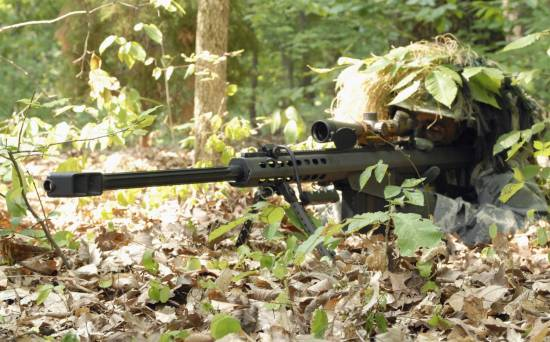 Barrett M82A1 .50 Caliber