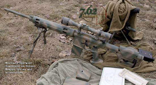 AR-10 Sniper with Optics and Accessories