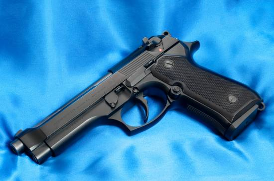 Beretta 92F chambered in 9 mm