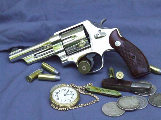 S&W .44 Special with a 4'' barrel