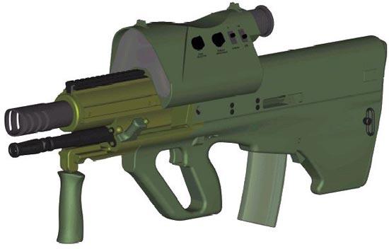 Штурмовая винтовка AICW
