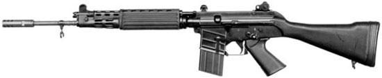 FN CAL с фиксированным прикладом