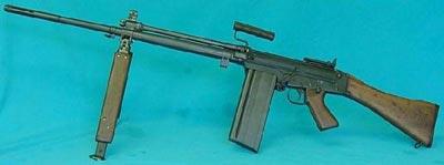 C2 Squad Automatic Weapon - вариант FN FALO канадский ручной пулемет