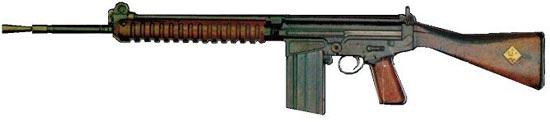 FN FAL образца 1950 года