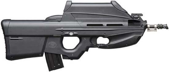 FN F2000 со штатным оптическим прицелом базовая конфигурация