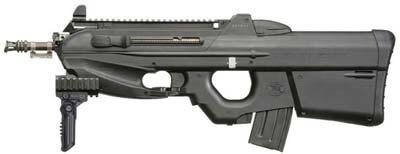 FN F2000 в конфигурации Tactical с направляющей типа Picatinny