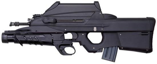 FN F2000 с 40-мм подствольным гранатометом FN EGLM