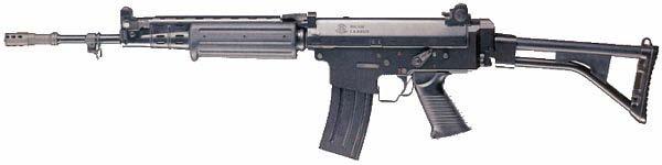 FN FNC с увеличенной спусковой скобой