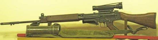 C1A1 с оптическим прицелом
