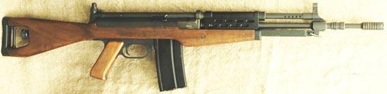 Madsen LAR M/62 под патрон 7.62х51 НАТО