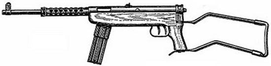 Cristobal M1962 с металлическим складывающимся прикладом