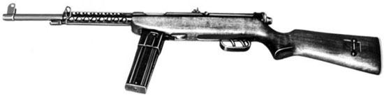 Cristobal M1962 с постоянным деревянным прикладом