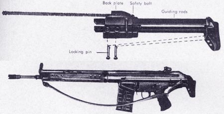 HK G3A1 со складным прикладом