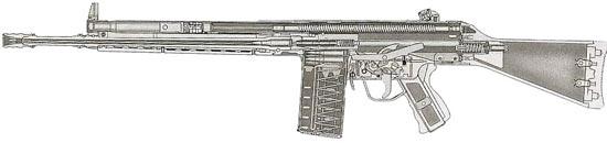 HK G3A3 в разрезе