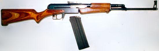 Автомат Ширяева АО-27 (магазин отсоединен)