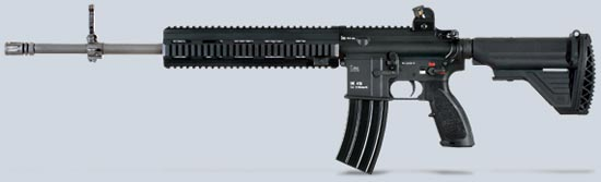 Штурмовая винтовка автомат heckler koch