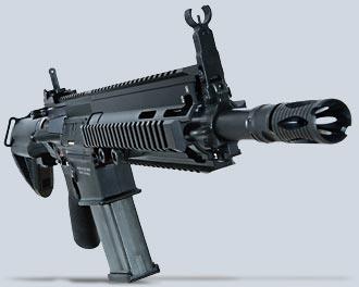 HK417 серийный вариантсо стволом длиной 305