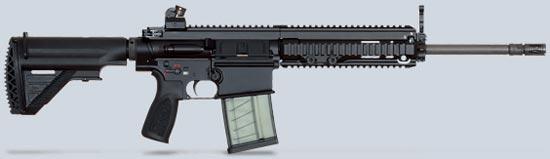 HK417 серийный вариант со стволом длиной 508 мм