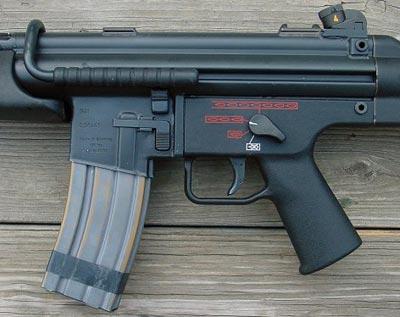 HK G41 ствольная коробка