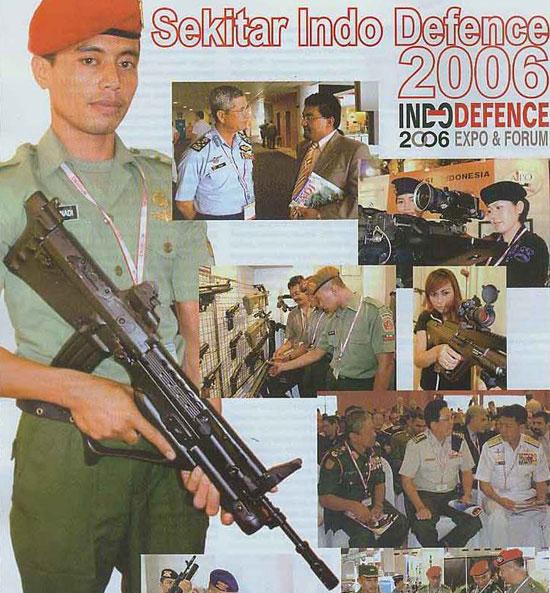 Pindad SS-2000, представленный на выставке «Indo Defence 2006»