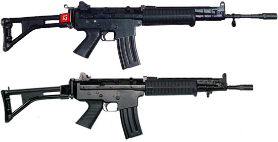 SS1-V1 (сверху) SS1-V2 (снизу)