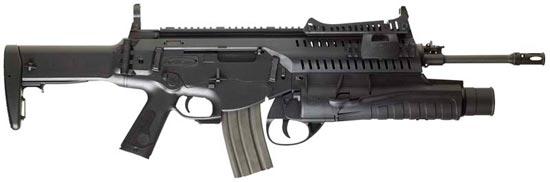 ARX-160 с длиной ствола 406 мм
