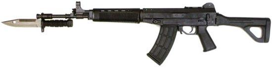 QBZ-03 / Type 03 с примкнутым штык-ножом