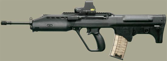 SAR 21 P-rail