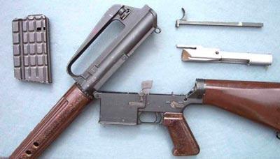 AR-10 неполная разборка