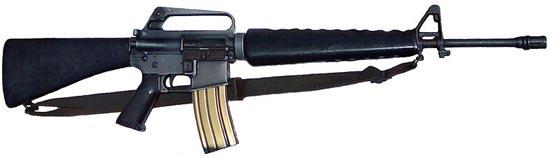 Винтовка m16