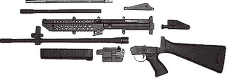 M96 неполная разборка
