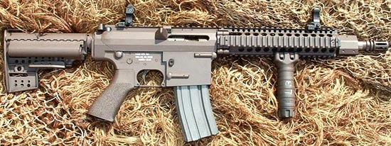 MCR 100 под патрон 5.56×45 mm NATO