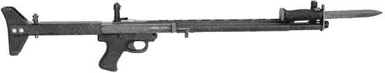 TRW LMR - Low Maintenance Rifle с примкнутым штыком