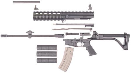 Robinson Armament XCR неполная разборка
