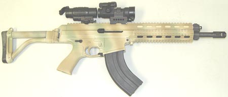 XCR-L калибра 7.62x39 mm ствол длиной 305 мм