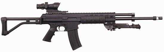 Robinson Armament XCR-L калибра 5.56x45 mm ствол длиной 470 мм