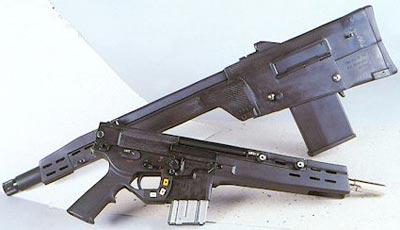 XM-29 OICW гранатометный «HE» и винтовочный «КЕ» модули