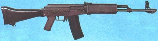 Rk 71S (M-71S) калибра 5.56x45 мм с пластмассовым прикладом