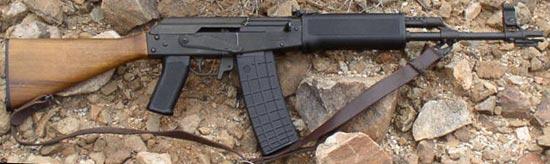 Rk 71S (M-71S) калибра 5.56x45 мм с деревянным прикладом