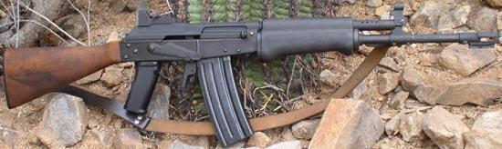 Valmet Rk 76 W калибра 5.56x45 мм