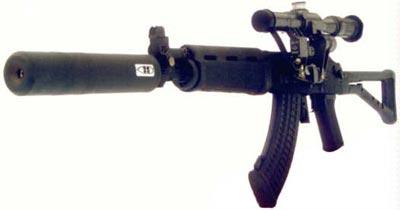 Sako Rk 95 TP с установленным оптическим прицелом и глушителем