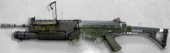 AK5 med Granattillsats