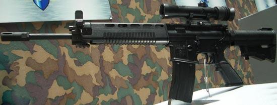 T91 с установленным оптическим прицелом