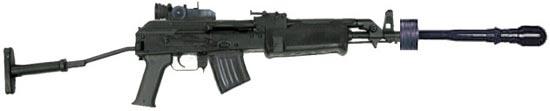 AMP-69 с винтовочной гранатой
