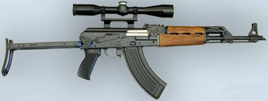 Zastava M70 AB2 с установленным оптическим прицелом